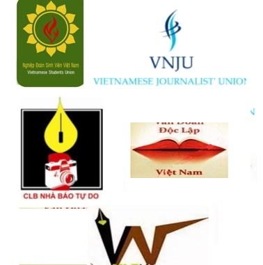 Logo của một số nghiệp đoàn độc lập tại Việt Nam
