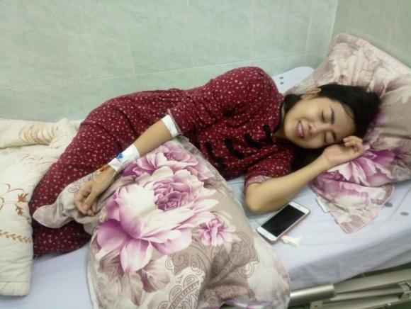 Diễn viên Mai Phương đang mắc bệnh ung thư phổi, hiện dang điều trị tại viện 175, TP. HCM (Ảnh: FBNV)